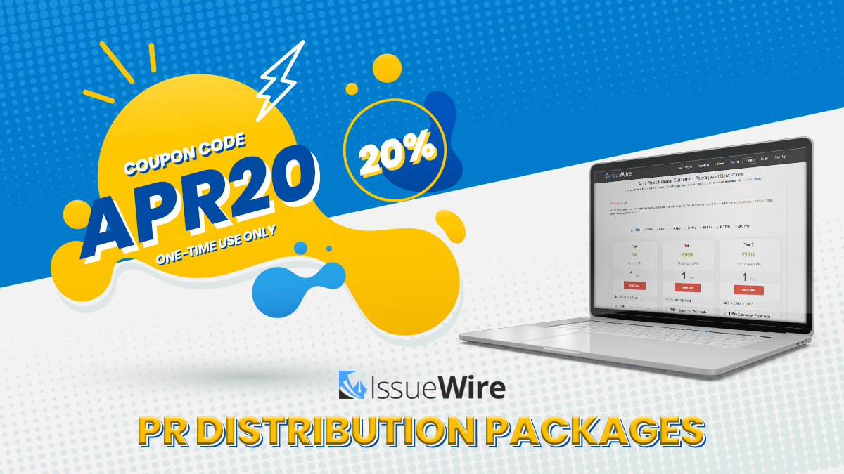Issuewire April Coupon 2021