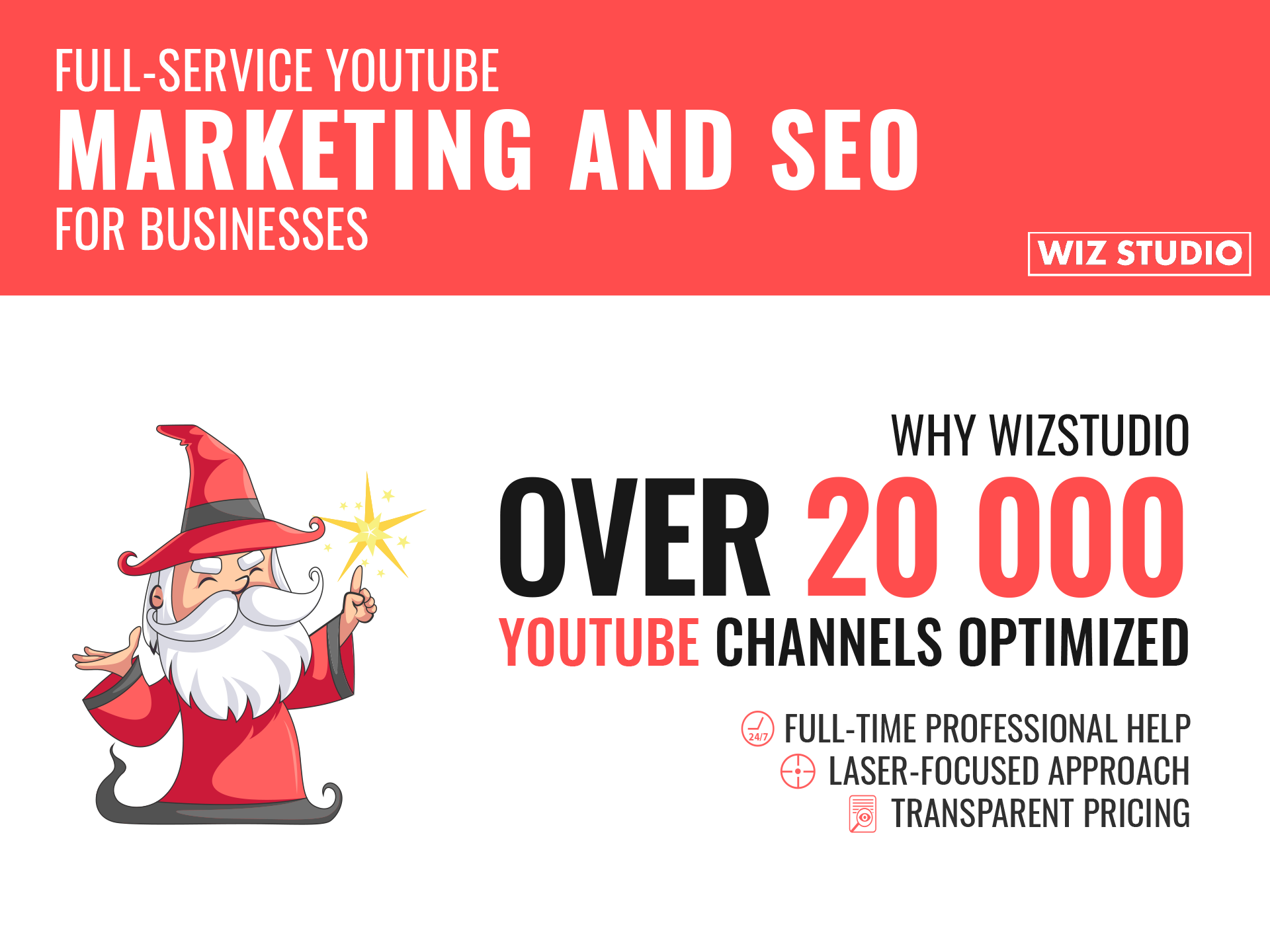 wizstudio youtube seo services